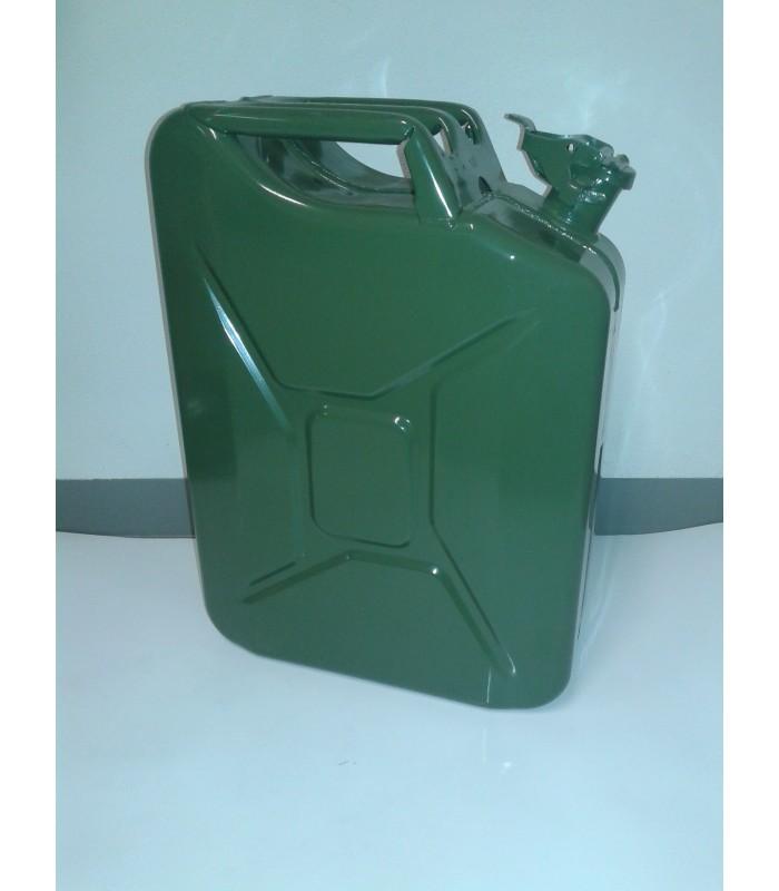Tanica in acciaio per carburante 20l Sabart