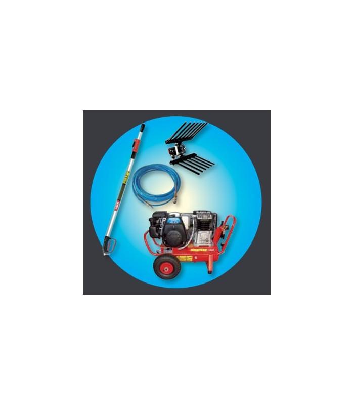 Kit compressore a benzina Lisam ALL INCLUSIVE
