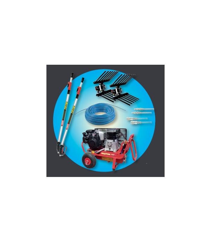 Kit compressore a benzina Lisam HOBBY 2 operatori